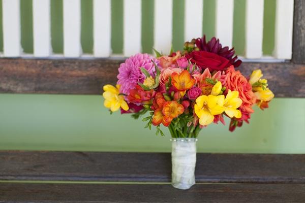 Red-Orange-Yellow-Wedding-Bouquet