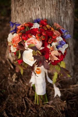 Red-Peach-Fall-Bridal-Bouquet