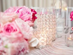 Silver-Pink-Centerpiece