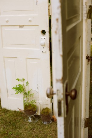Thrifted-Door-Ceremony-Backdrop