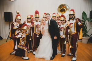 USC-Trojan-Marching-Band-Wedding-Reception