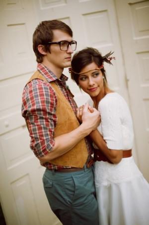 Vintage-Thrifted-Wedding-Attire