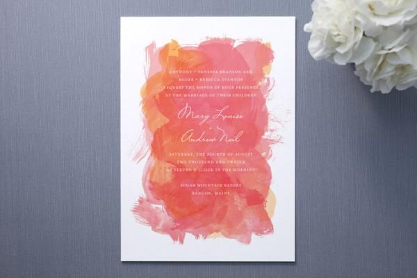 Watercolor-Minted-Wedding-Invitation