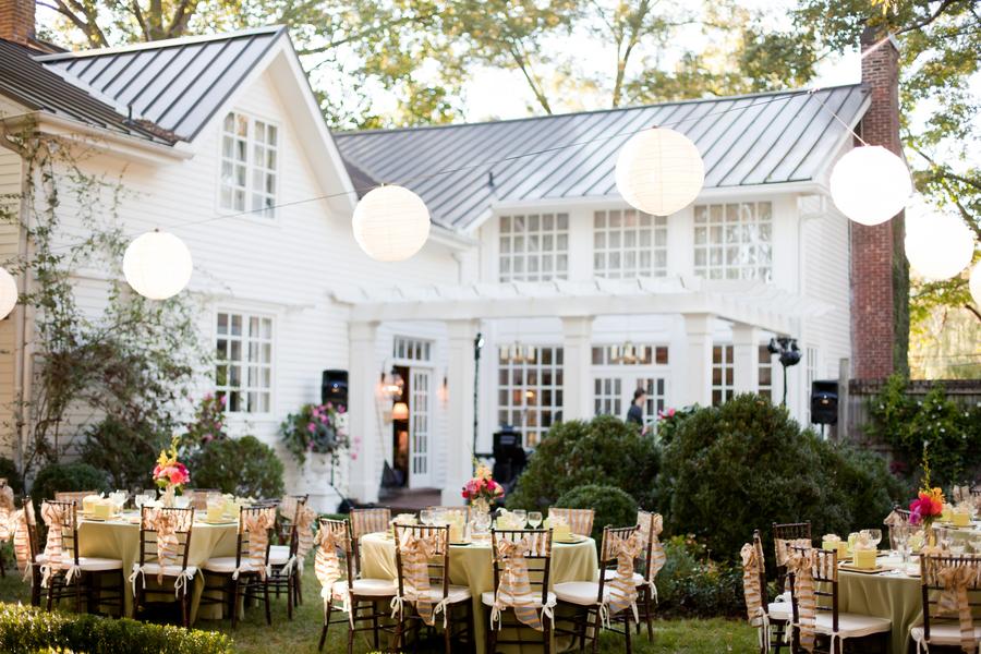 Classic Nashville Backyard Wedding from Jen + Chris Creed