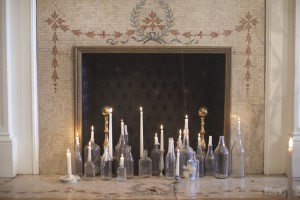 Candle-Filled-Fireplace