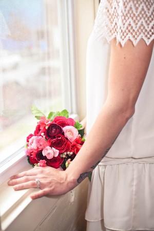Dark-Pink-Bouquet