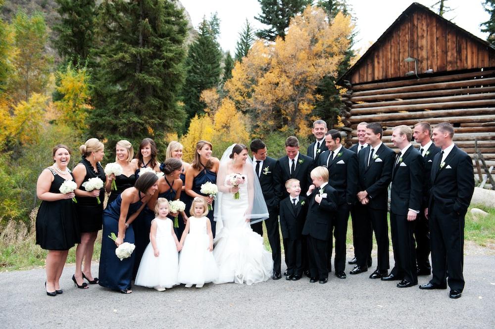 Elegant-Black-and-Navy-Wedding-Party - Elizabeth Anne Designs: The ...
