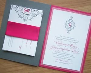 Elegant-Glamorous-Hot-Pink-Wedding-Invitations