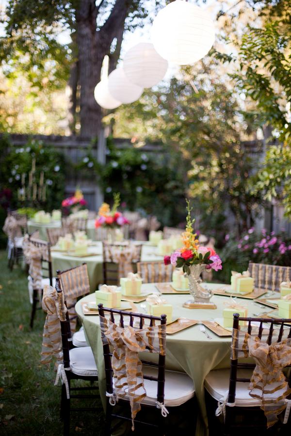 Garden Party Wedding Reception Elizabeth Anne Designs The Wedding