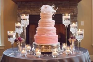 Glamorous-Pink-Wedding-Cake