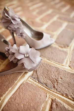 Grey-Ruffled-Fabric-Flower-Wedding-Shoes