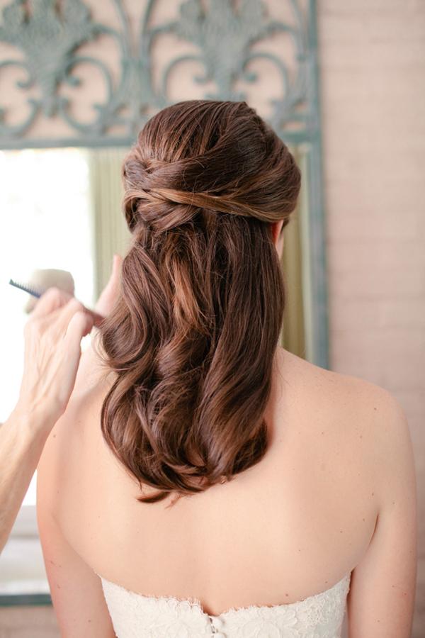 Half up wedding hair elizabeth anne designs the wedding blog half up wedding hair junglespirit Gallery