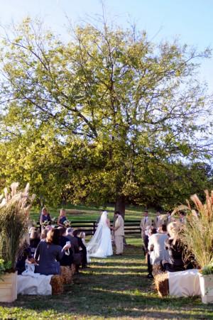 Hay-Benches-Wedding-Ceremony