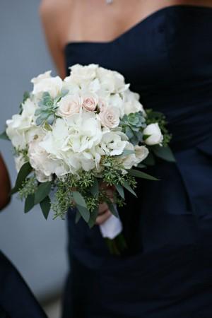 Hydrangea-Rose-Succulent-White-Pink-Bouquet