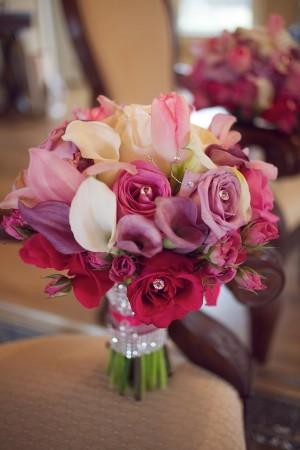 Magenta-Fuchsia-Pink-Rose-Calla-Bouquet