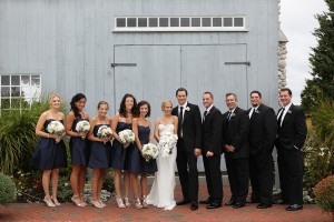 Navy-and-Black-Bridal-Party