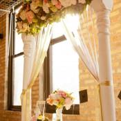 Pink-Green-Wedding-Flowers