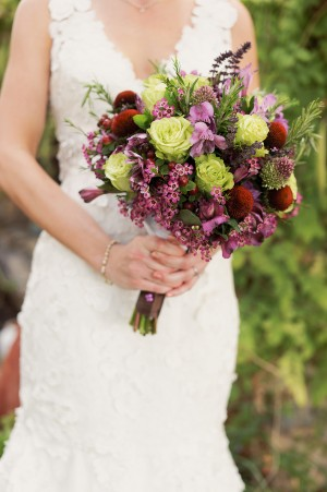 Rose-Wax-Flower-Rosemary-Bouquet