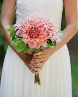 Salmon-Coral-Colored-Dahlia-Bouquet