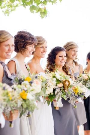 Slate-Blue-Bridesmaids-Dresses