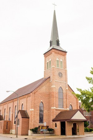 St-Joseph-Catholic-Church-Michigan-Wedding-1