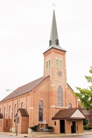 St-Joseph-Catholic-Church-Michigan-Wedding-1