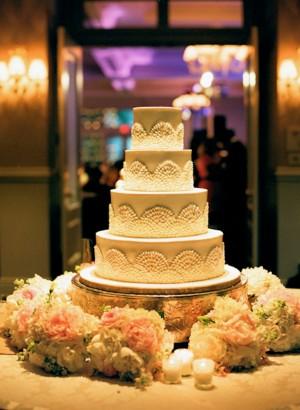 White-Scalloped-Wedding-Cake