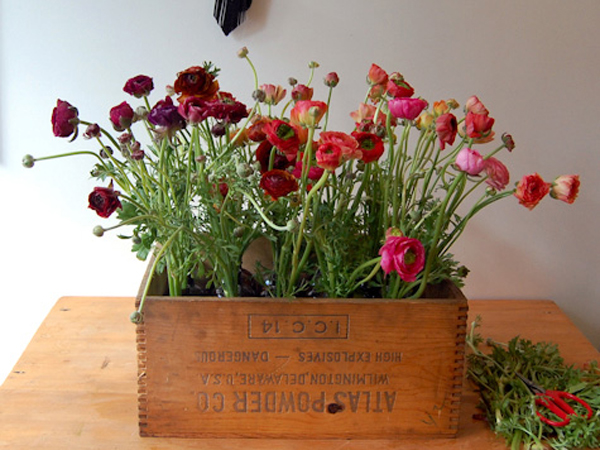 boxed flower presentation how to make it