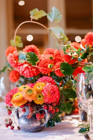 vibrant-florals-and-vintage-vase