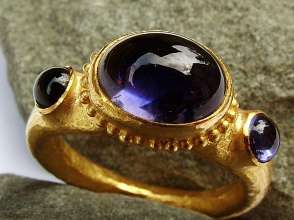 Antique-Indigo-Ring