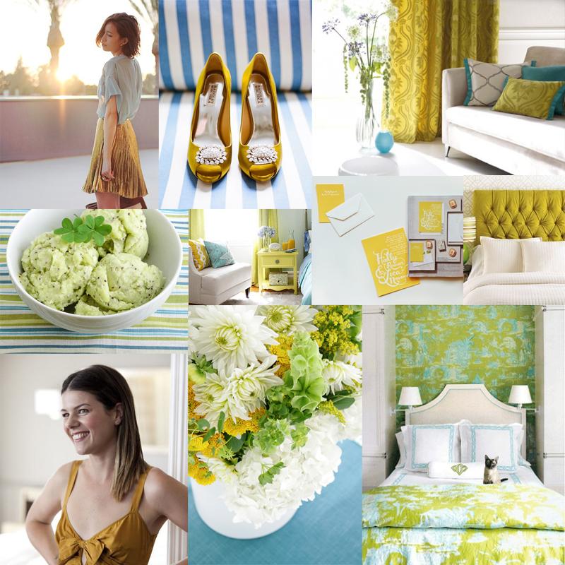 Aqua-Chartreuse-Kiwi-Wedding-Colors