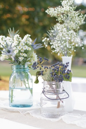 Berry-Mason-Jar-Burlap-Lace-Wedding-Reception