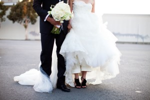 Black-Ruffle-Wedding-Shoes