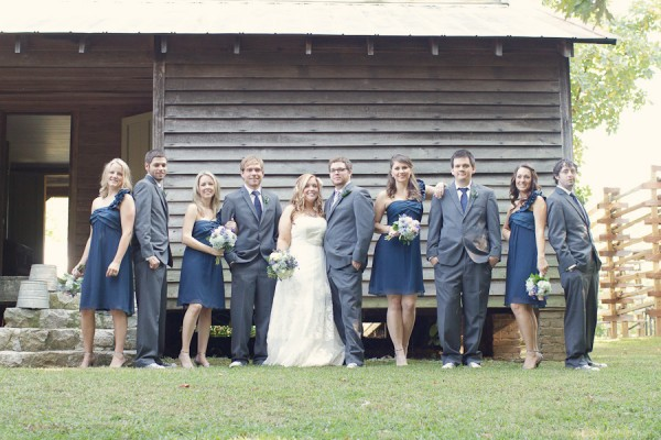 Indigo-Ink-and-Grey-Bridal-Party