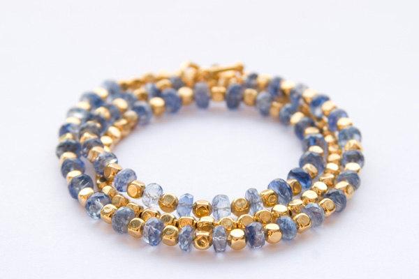 Indigo-and-Gold-Beaded-Bracelet