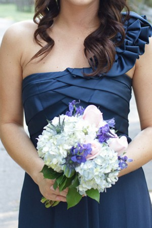 One-Shoulder-Ruffle-Bridesmaids-Dress