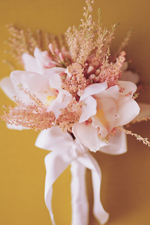 Orchid-Astilbe-Bouquet