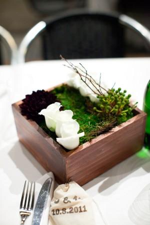Organic-Green-Centerpiece-Wood-Box