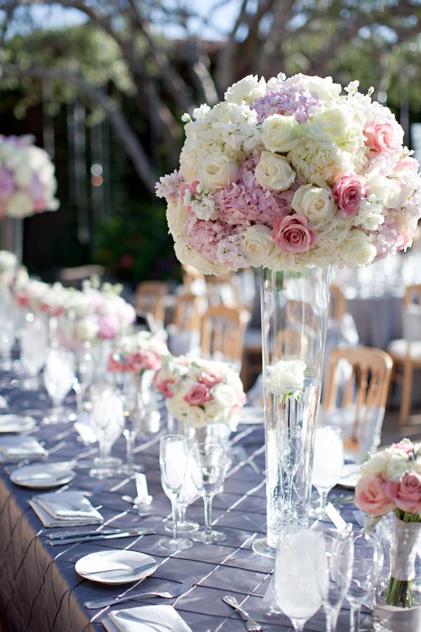 Pink Ivory Lavender Wedding Reception Elizabeth Anne Designs The