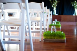Wheatgrass-Candle-Stand