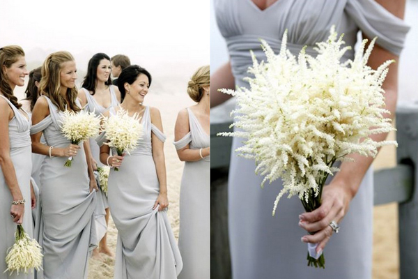 White-Astilbe-Bouquets