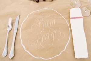 kraft-paper-white-ink-place-mat