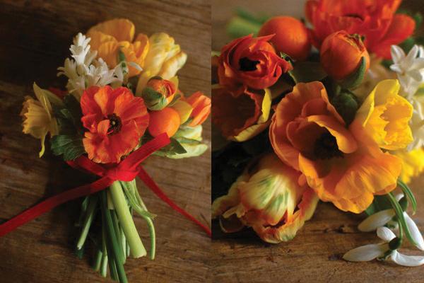 poppy-daffodil-spring-bouquet