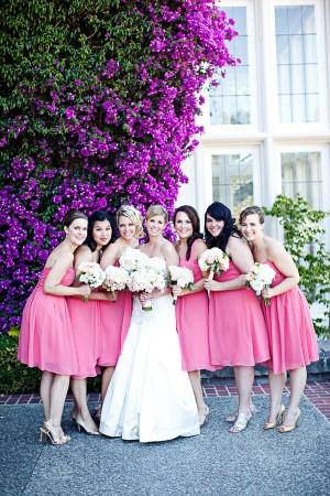 Azalea-Pink-Bridesmaids