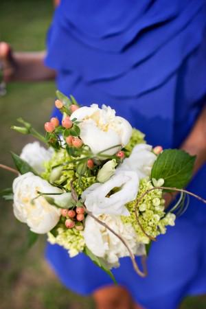 Blue-Bridesmaid