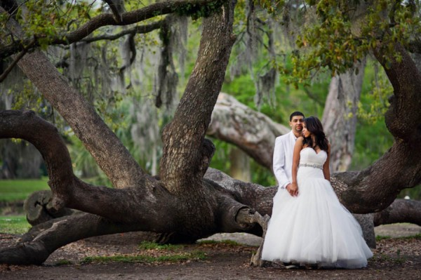 City Park Wedding Photos