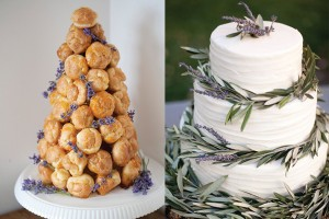 Lavender-Accented-Wedding-Cake-Dessert