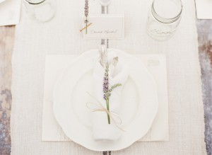 Lavender-Placesetting
