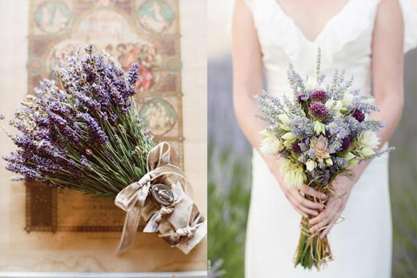 Lavender-Wedding-Bouquets
