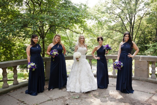 Long-Navy-Bridesmaids-Dresses